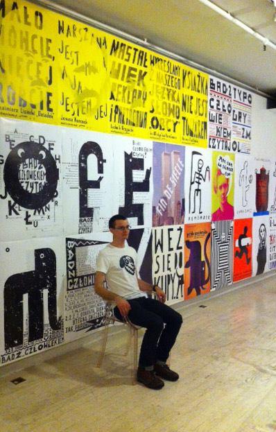 Jan Bajtlik poster exhibition in NYC 3