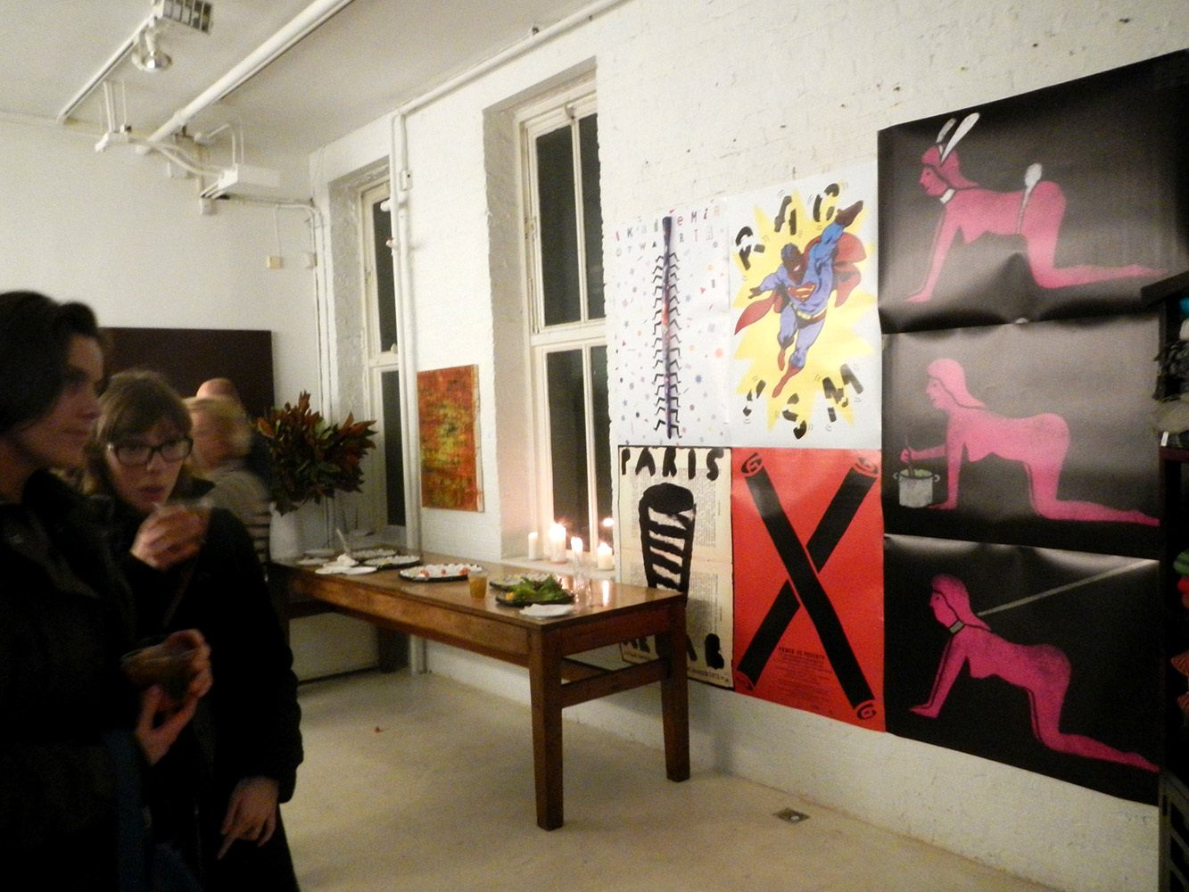Jan Bajtlik poster exhibition in NYC 4