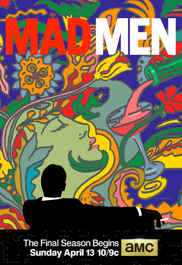 Mad Mens Season 7 Poster – Milton Glaser