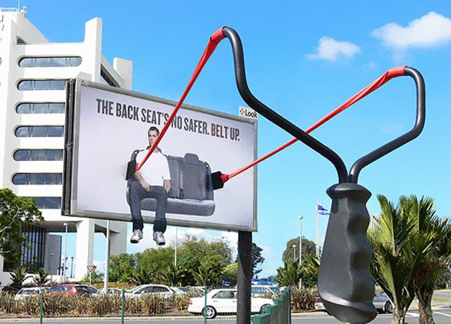 creative-street-advertisement-back-seat-not-safer-belt-up