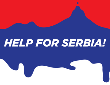 Poster-Serbia-Help-by-Borko-Nerić
