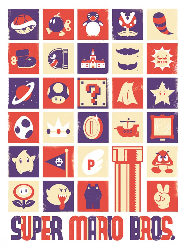 Geek-Object-Posters-Super-Mario-600×800