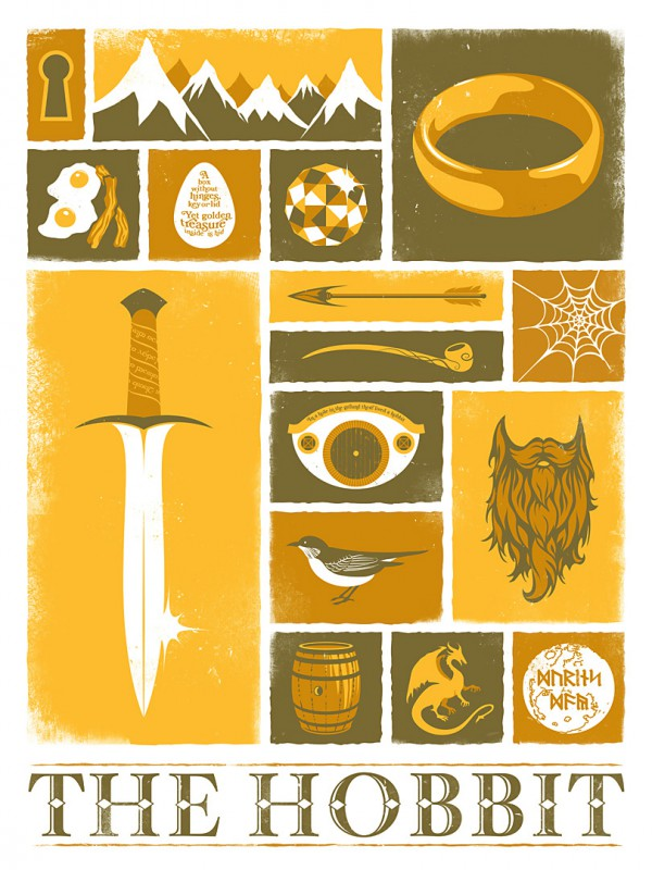 Geek-Object-Posters-The-Hobbit-600×800