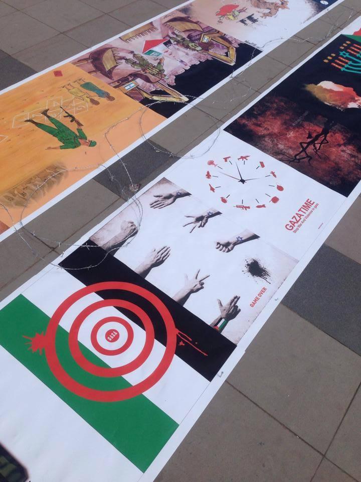 Gaza Poster Exhibition – Turkey 10