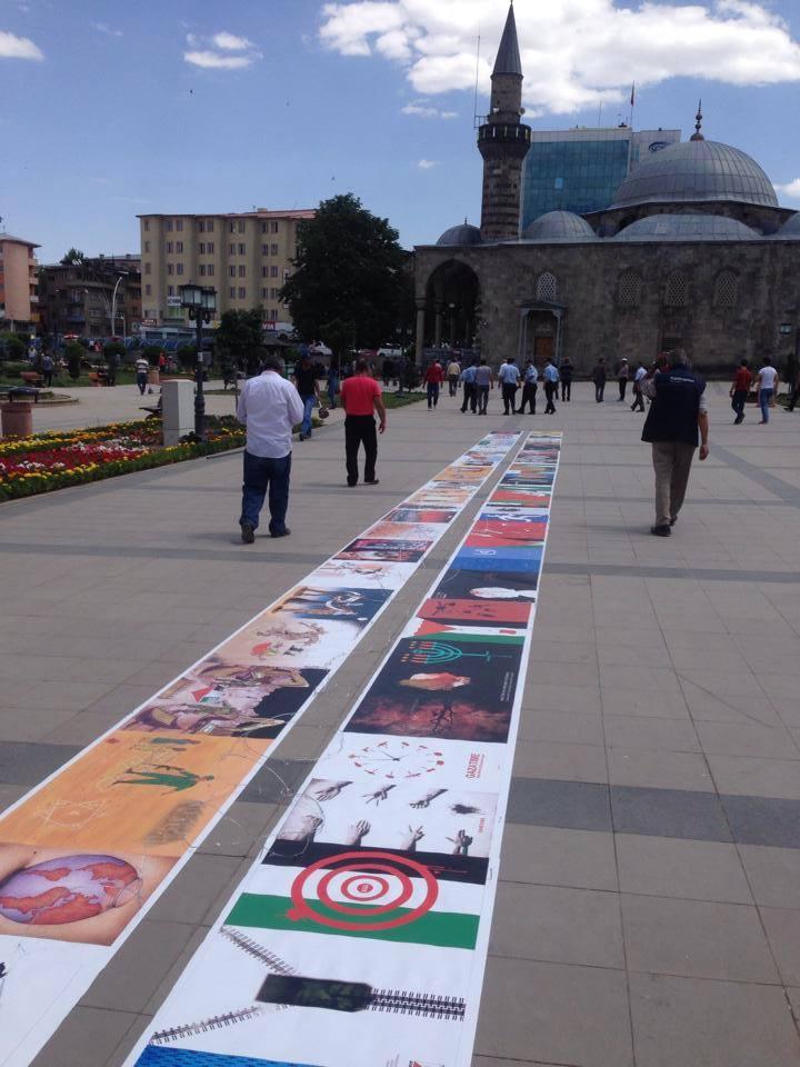 Gaza Poster Exhibition – Turkey 11
