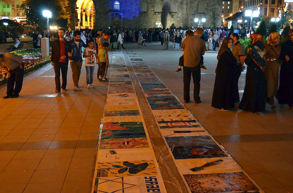 Gaza Poster Exhibition – Turkey 2
