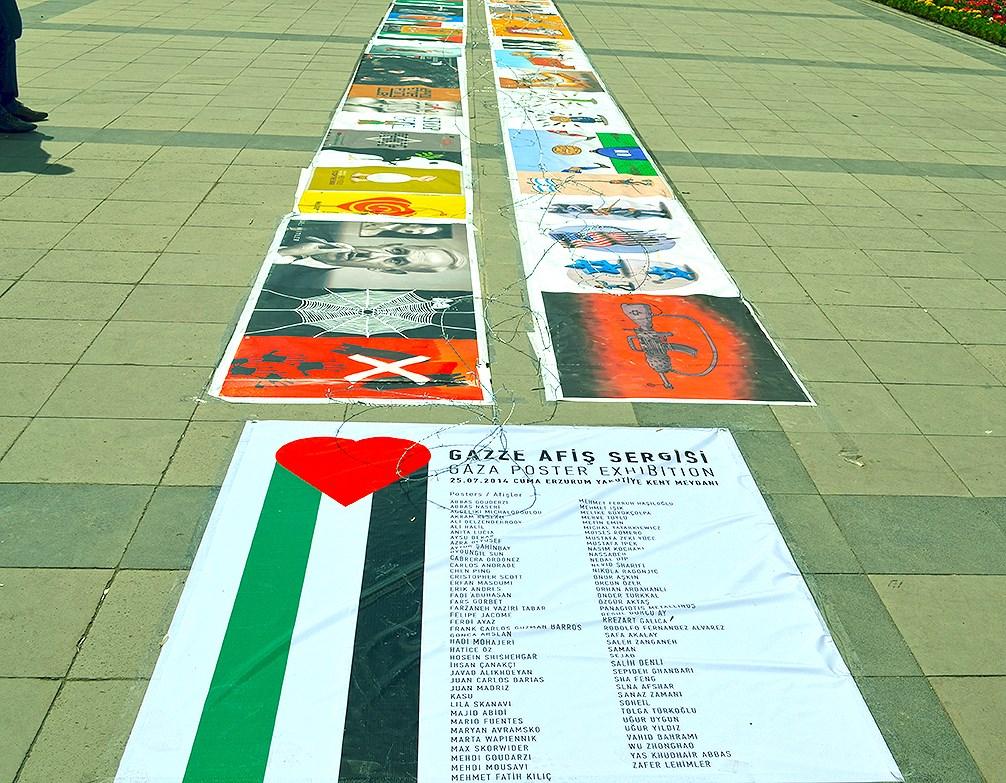 Gaza Poster Exhibition – Turkey 3