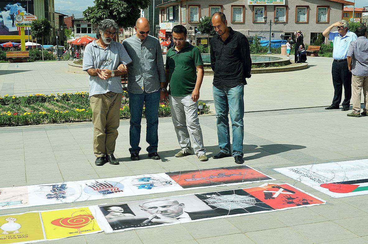 Gaza Poster Exhibition – Turkey 4