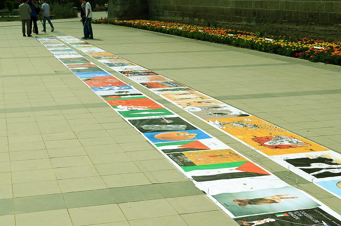 Gaza Poster Exhibition – Turkey 6