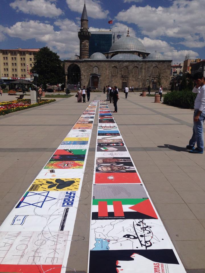 Gaza Poster Exhibition – Turkey 7