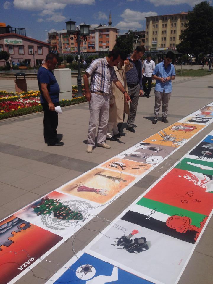 Gaza Poster Exhibition – Turkey 8