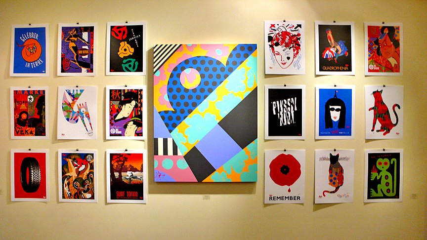 Andrew Lewis – Posters & Paintings 2