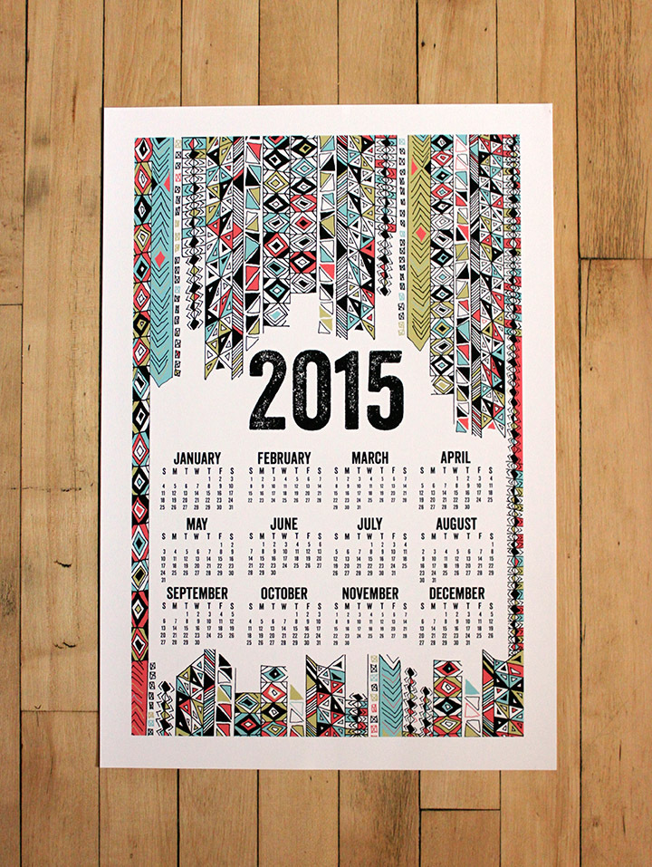 Calendar Posters 2015 : Wall calendars poster nothing but posters