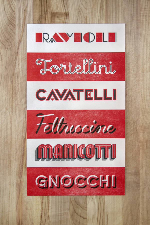 pasta_typo_poster_letterpress