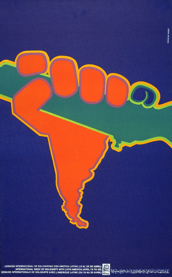 007 – LATIN AMERICA – 1970 – Solidarity with Latin America – Asela Perez