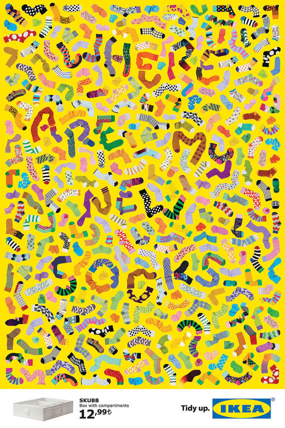 Ikea typographic posters poster poster nothing but posters for Poster ikea