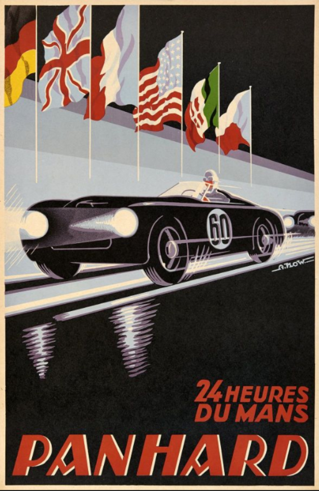 Posters Of The 24 Hours Of Le Mans Poster Poster