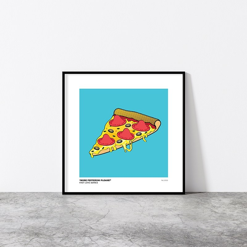More-pepperoni-please-framed