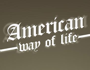 American way of life 1
